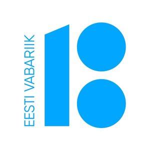 Логотип Эстония 100. Сайт: ev100.ee.